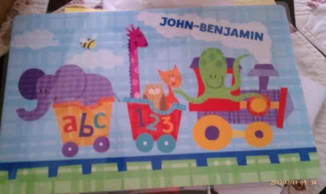 JB place mat