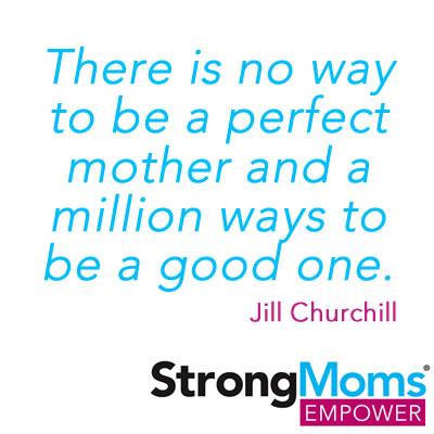Take the StrongMoms Empowerment Pledge