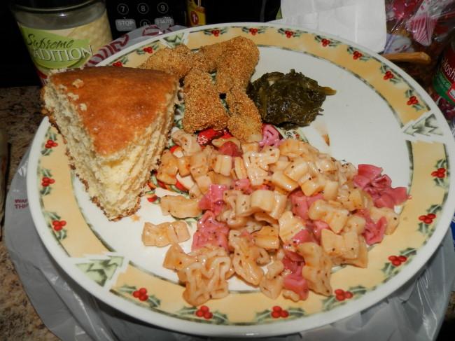 Maryland Terps Pasta Salad Dinner