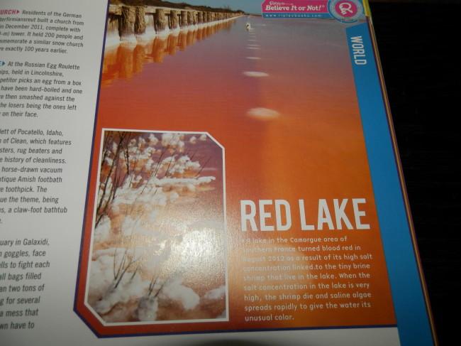 A Red Lake