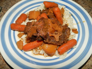 Stewed Oxtails