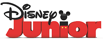 English: This is the american Disney Junior logo.