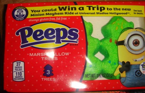 PEEPS Marshmallow Trees