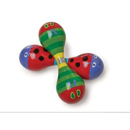 Kids Preferred - The World of Eric Carle: The Very Hungry Caterpillar Wood Maraca
