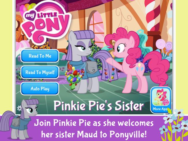 Pinkie Pie's Sister