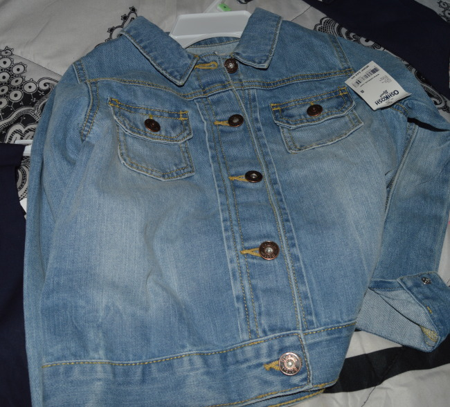 OshKosh Girl Jean Jacket