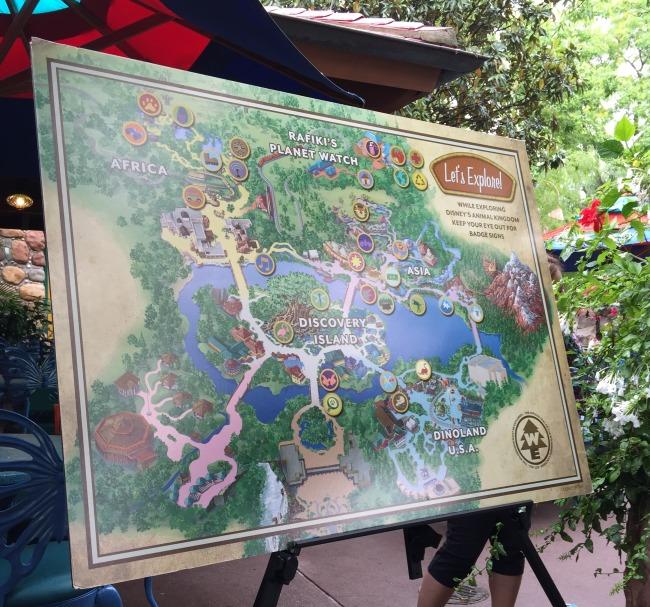 Wilderness Explorers Map
