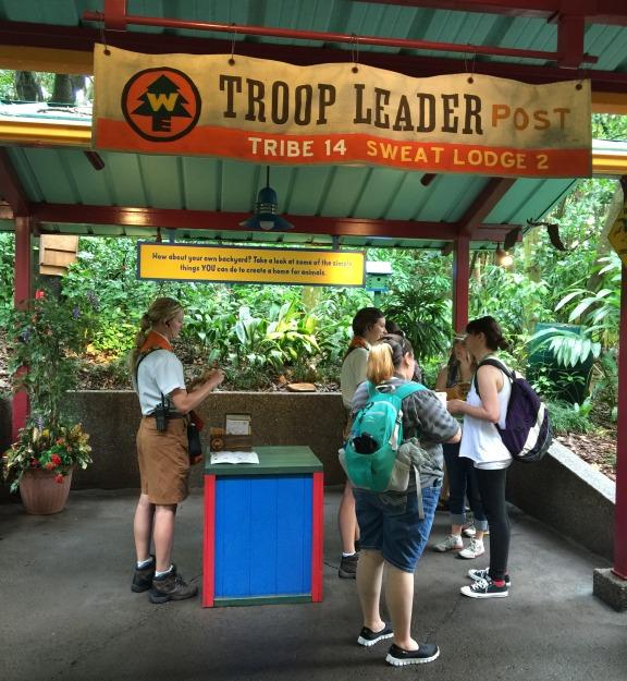 Troop Leader Post - Wilderness Explorers