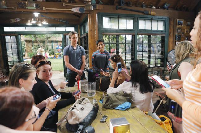 BUNK'D - Mommy Blogger event. - (Disney Channel/Tony Rivetti) KEVIN G. QUINN, KARAN BRAR