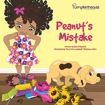 Peanut's Mistake Pumpkinheads Book