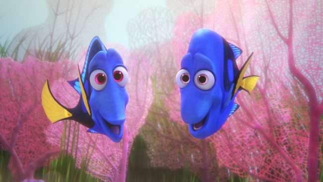FINDING DORY – Pictured (L-R): Jenny and Charlie. ©2016 Disney•Pixar. All Rights Reserved.