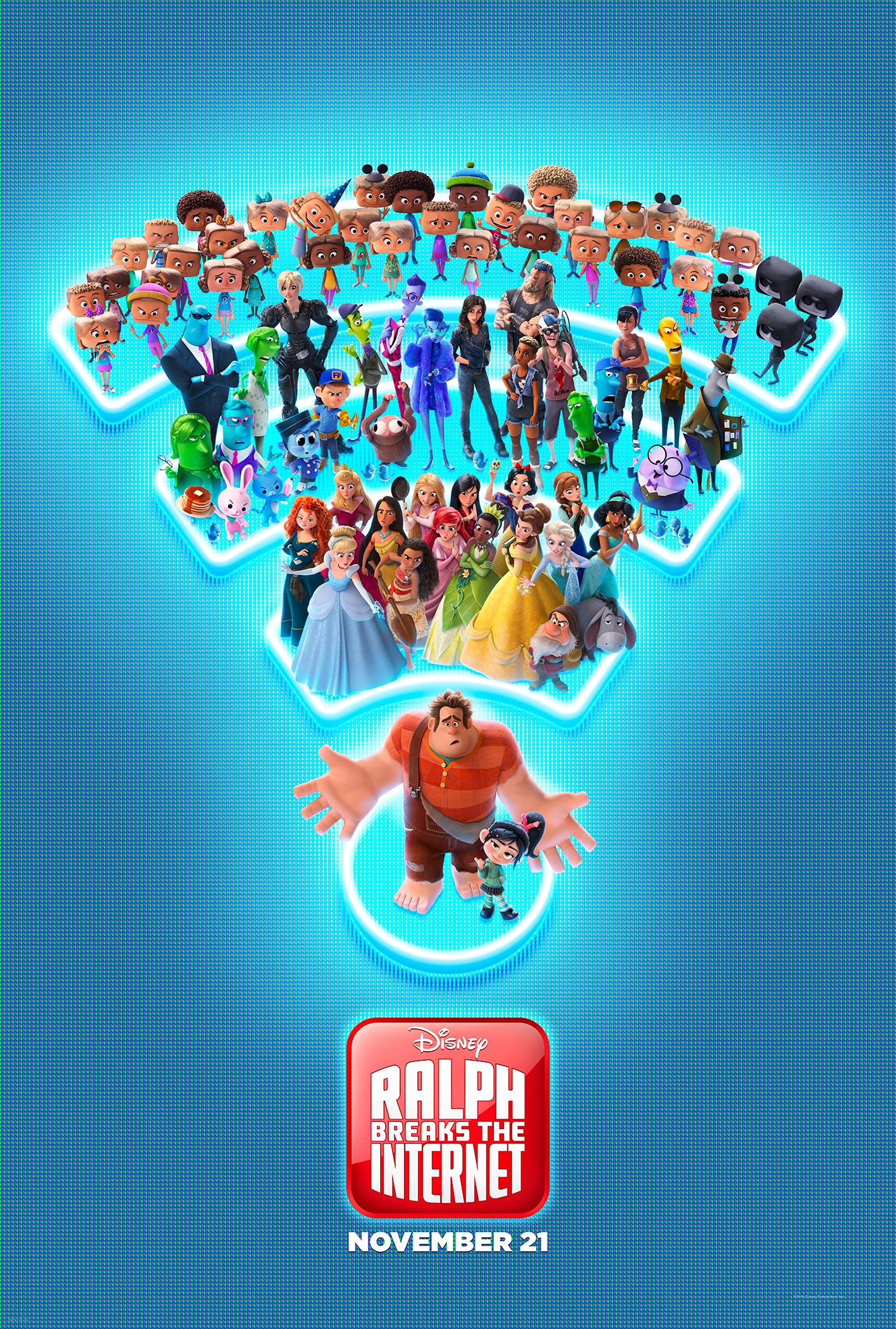 Ralph Breaks the Internet Poster