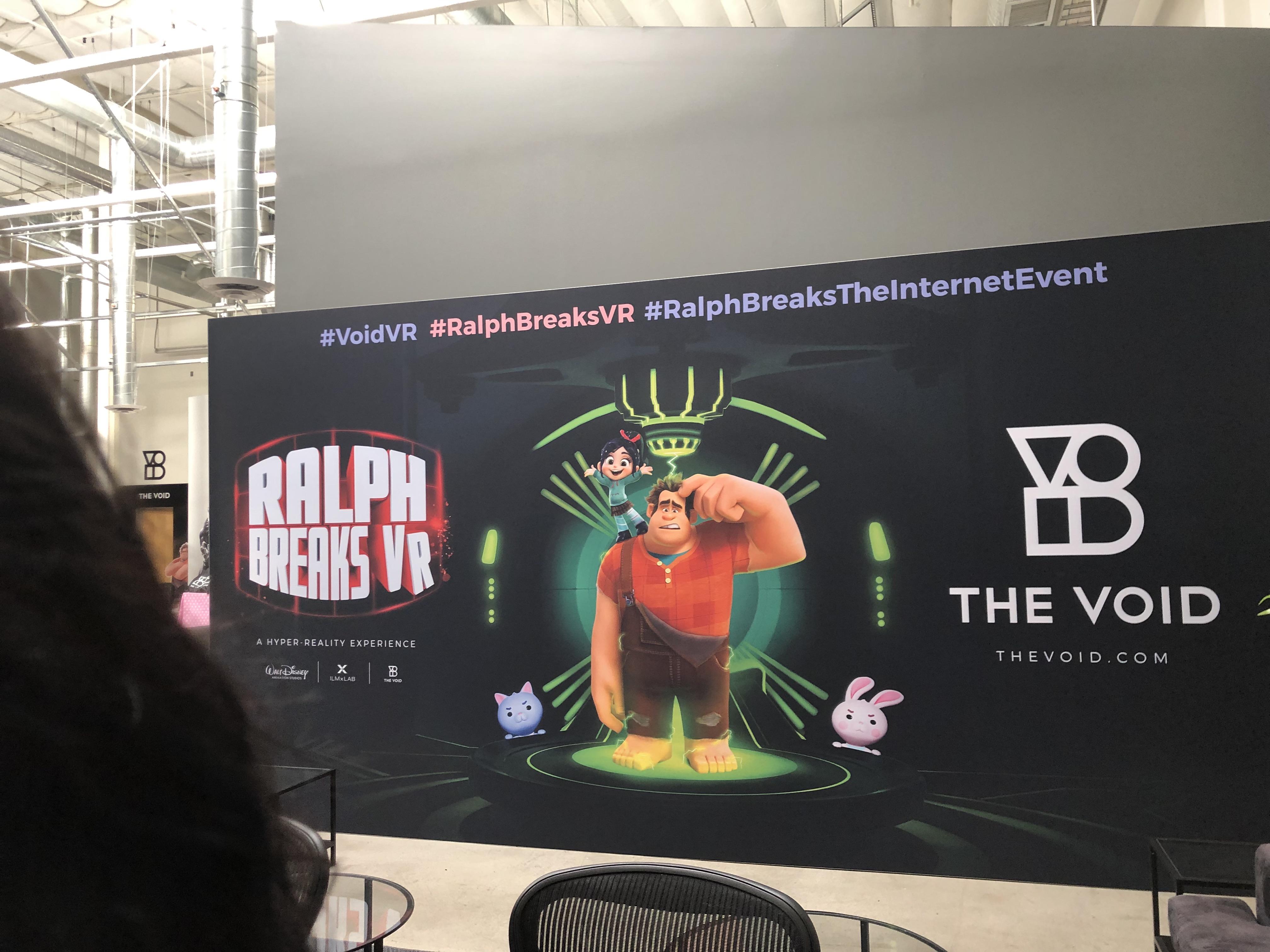 The Void #RalphBreaksVR