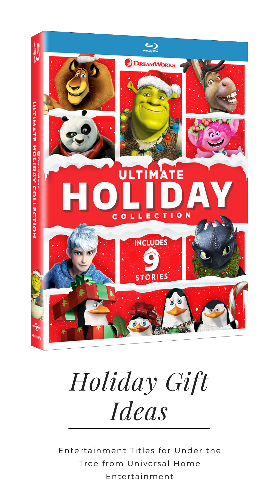 Entertainment Titles for Under the Tree from Universal Home Entertainment